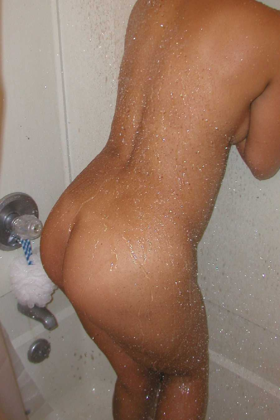 Ass in Shower Dare