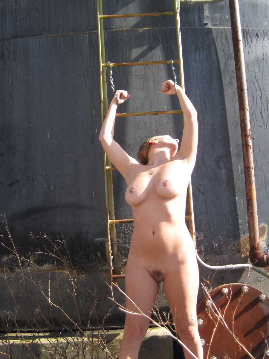 sexy naked woman showering